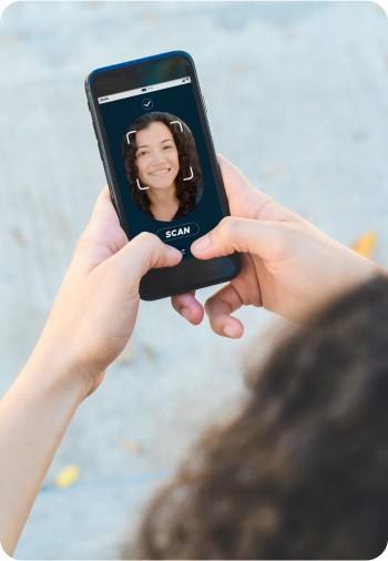 Control horario reconocimiento facial