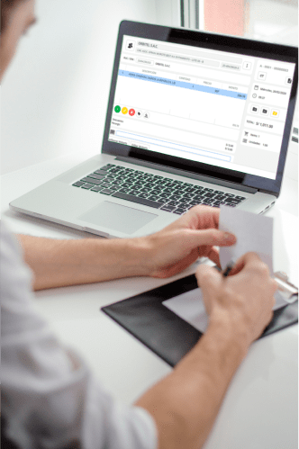 Programa de control de stock online